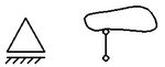 przegubowo przesuwna symbol